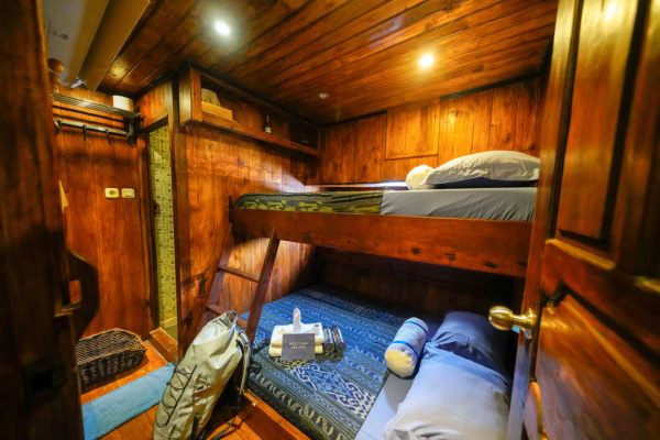 One of the bunk bed rooms