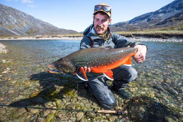 Sea-run Arctic char from Kangia River